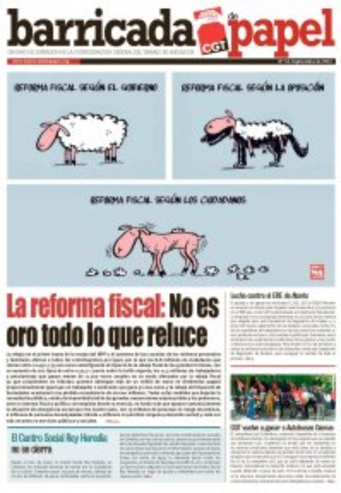 Barricada de Papel, nº 18 – Septiembre 2014