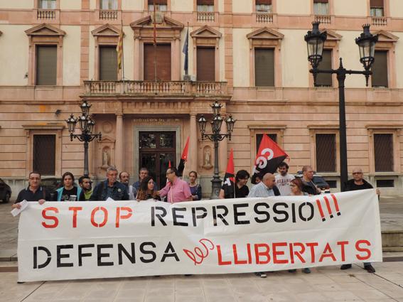 [Fotos] Lleida contra la represión social y sindical