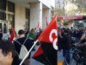 [Fotos] CGT se concentra ante la Bolsa de Barcelona
