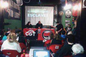 [Fotos] Presentación del documental griego «Que no vivamos como esclavos» en Castelló