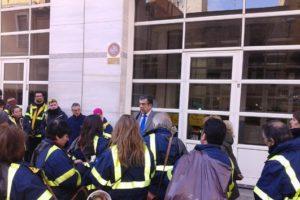 La asamblea de trabajadores de Correos de Castelló arranca el compromiso a la Dirección de Zona de mantener estable la plantilla y decide volver al trabajo
