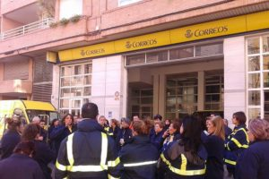 Huelga indefinida en Correos de Castelló a partir del 4 de febrero