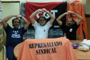 Solidaridad con los compañeros de Airbus Tablada