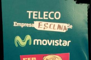 [Fotos y crónica] Cuarto día de huelga indefinida en la empresa de telecomunicaciones Teleco de Castelló y sus subcontratas