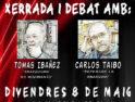 8-M: Anarquismo en la actualidad. Charla debate con Tomas Ibáñez y Carlos Taibo