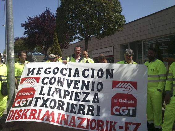 Desconvocada la huelga en Limpieza Viaria de la Mancomunidad del Txorierri
