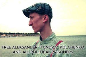 ¡Libertad para Alexandr Kolchenko, antifascista de Crimea, secuestrado y encarcelado por el Estado ruso!