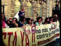 Concentración contra la Violencia Machista en Santander