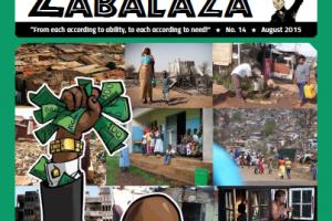 Salió el número de Agosto de Zabalaza (Sudafrica)