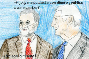 El padre de Rajoy