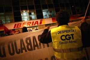 CGT avanza en Iberia