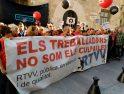 [Fotos] Marcha por la reapertura de RTVV en el segundo aniversario de su cierre