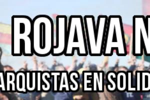 Nº1 revista 'Rojava no está sola': Publicación anarquista solidaria con la lucha del pueblo kurdo