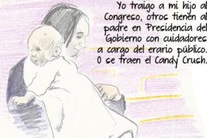 Un bebé en el Congreso