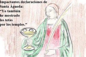 Declaraciones de Santa Águeda