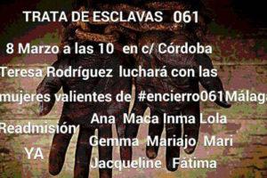 8 de Marzo en Málaga, trata de esclavas en 061