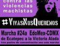 Rompamos el patriarcado, acabemos con la violencia contra las mujeres…también en Mexico