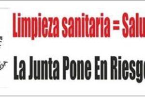 Nueva jornada de movilizaciones en los servicios de limpieza de los hospitales del complejo hospitalario de Málaga