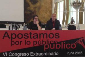 La CGT reúne los días 15 y 16 de abril a sus sindicatos en Pamplona para debatir y aprobar la propuesta de la organización anarcosindicalista para revertir las privatizaciones sufridas por empresas y servicios públicos
