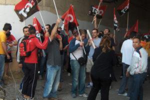 Tras 9 años y una suspensión en 2014, se celebra el juicio contra 19 trabajadores de Compañía Valenciana de Aluminio Baux per ejercer el derecho a la huelga