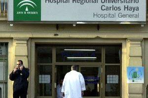 7 Mayo, comienza la huelga en el servicio de limpieza del Hospital Regional de Málaga, Carlos Haya
