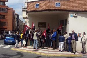 [Fotos] Concentración en Ávila en contra de la privatización del SMAC en Castilla y León