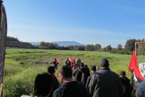Sentencia sobre la ocupación de la finca en Pizarra (Málaga) en 2013