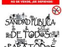 Málaga reclama una #sanidadlimpia. Por los derechos de pacientes y personal sanitario