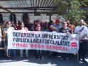 Huelga General Educación en Alicante