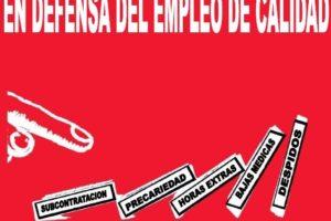 La CGT inicia una campaña en defensa del empleo de calidad en el Sector Aeronáutico