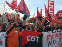 Quinto día de la huelga de Servicios Ferroviarios, mañana viernes dos concentraciones