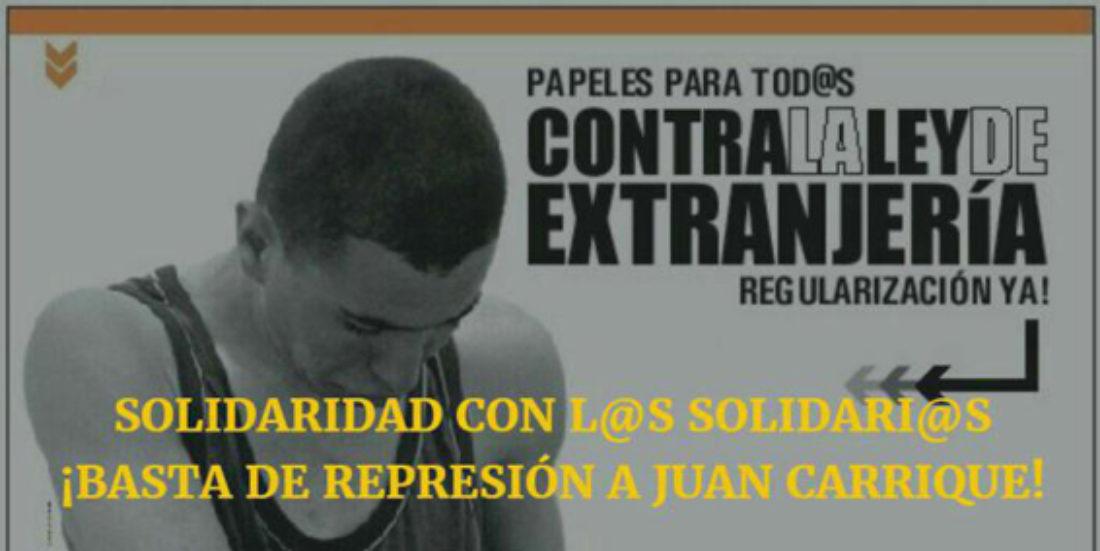 6-A: Acto público de apoyo a Juan Carrique