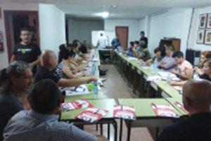 Celebrada en Alicante la charla sobre Señas de identidad y estructura organizativa de la CGT