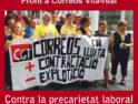 25-m Vila-real: Concentración frente a Correos contra la precariedad laboral y por la dignidad en el trabajo