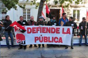 CGT pide la dimisión del delegado de Educación Juan Luis Belizón