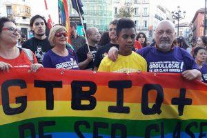 Manifestación del Orgullo Crítico en Madrid. 28-07-17
