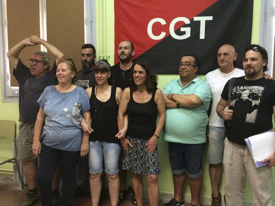 Nuevo Secretariado Permanente de la Federación Intercomarcal de la CGT de Tarragona