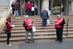 11-J Valencia: CGT repartirá a pie de calle información sobre la situación laboral en la ONCE