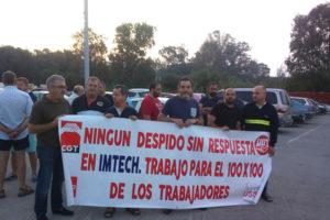 El Comité de empresa de IMTECH inicia movilizaciones en defensa del empleo