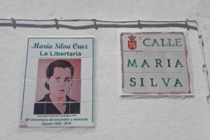 Recordando a María Silva en el 81 aniversario de su fusilamiento
