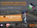En solidaridad con el pueblo palestino: El movimiento BDS (Boicot, Desinversiones y Sanciones)