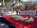 CGT protesta en València contra la precariedad y las muertes en el trabajo