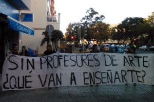 CGT apoya las reivindicaciones del alumnado de la escuela de Arte de Cádiz por la desastrosa situación de los Estudios Superiores de Diseño de Moda