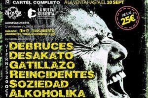 'Rojo y Negro TV' entrevistará a las bandas participantes en el festival AKUBIERTO en Leganés