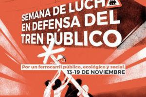 Rueda de Prensa Martes 14 en Palencia y anuncio Concentración 15 nov. en defensa del ferrocarril del #TrenNormal