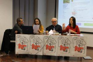 [Fotos] Jornadas Libertarias CGT-València: Bernat, Aisa y Chirivella muestran el papel central de las mujeres en las resistencias antifascistas