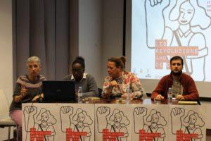 [Fotos] La cuarta charla de las Jornadas señala que el combate por la igualdad es indisoluble del internacionalismo