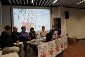 [Fotos y audio] Empiezan las Jornadas Libertarias de CGT Valencia señalando la contribución determinante de las mujeres en las revoluciones pasadas, presentes y futuras
