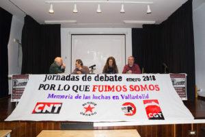 [Fotos] Jornadas «Por lo que Fuimos, Somos» Memoria de las Luchas Obreras en Valladolid