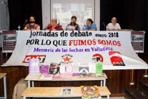 [Fotos] Charla Luchas Sociales en Valladolid